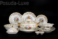 Столовый сервиз на 6 персон Мадонна Перламутр Royal Czech Porcelain